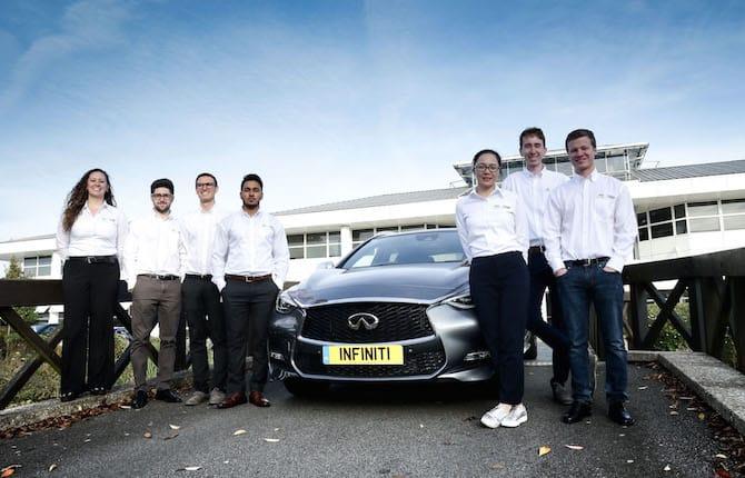 Infiniti engineering academy: per i vincitori carriera da sogno in Formula Uno