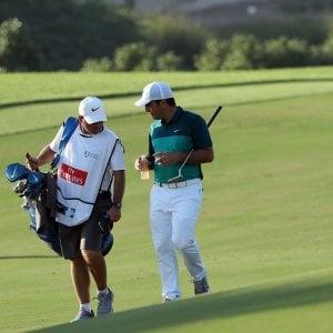 Golf, Dubai: Francesco Molinari in testa con Garcia nel Dp World Tour
