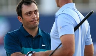 Golf, Dubai: Francesco Molinari in testa con Garcia nel Dp World Tour