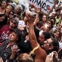 Los Angeles, Susan Sarandon si schiera con i Sioux nella protesta contro l'oleodotto