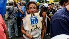 Venezuela, Ong chiedono pressione internazionale: 4 milioni di persone in pericolo di vita