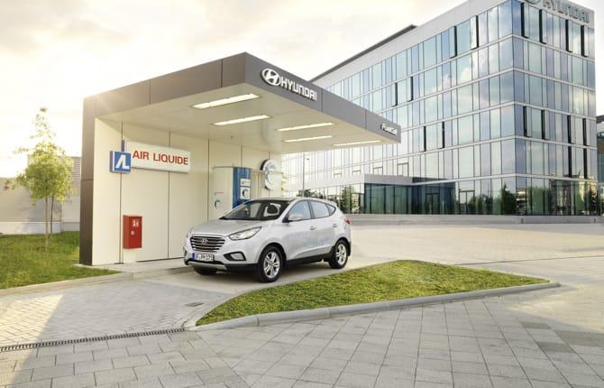 Hyundai, al via la prima stazione pubblica per l'idrogeno