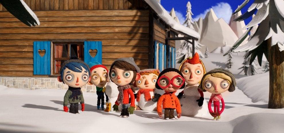 Zucchina e Palle di neve, l'umore meteo dei ragazzini