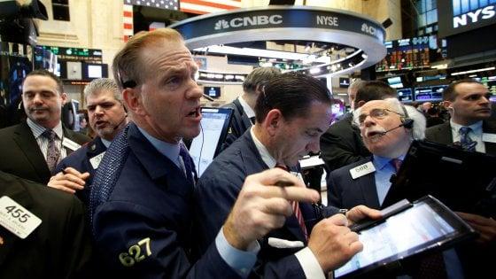 Borse ben intonate in scia a Wall Street, la Germania rallenta la crescita