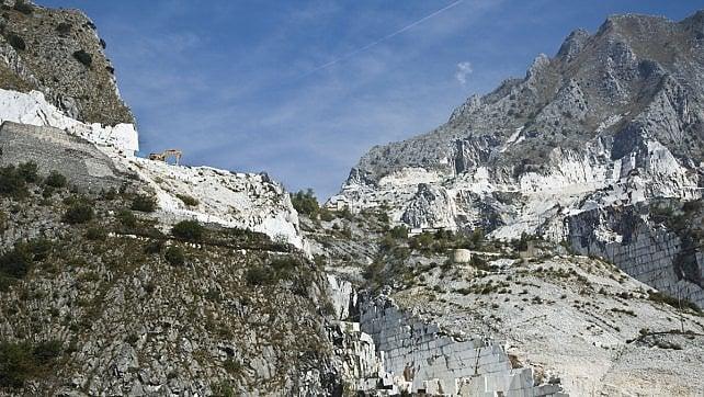 Tra marmo e lardo, Carrara -    ft