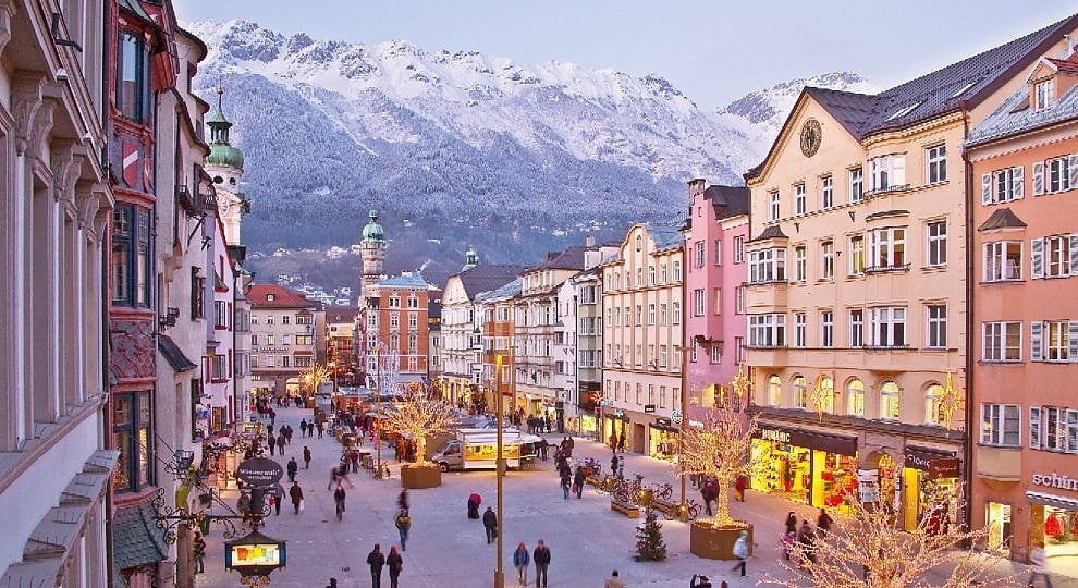 Innsbruck, capitale alpina -   ft
