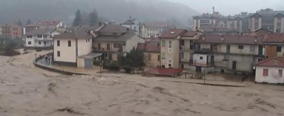 Legambiente: 7 milioni di italiani esposti a rischio frane o alluvioni