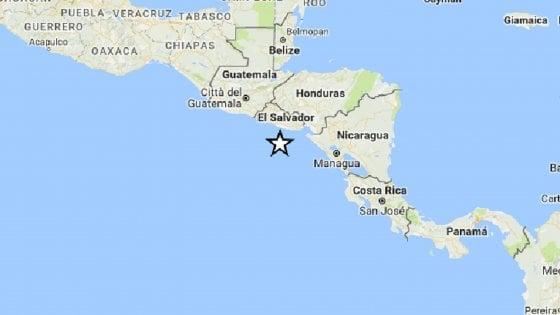 Allerta tsunami in Nicaragua dopo sisma 7,2 in America centrale