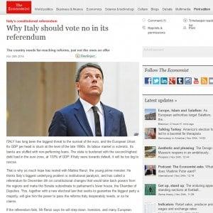 Referendum, la posta economica tra rigore e spinte alla crescita