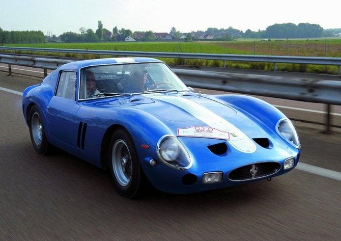 Livrea #35, ispirata alla Ferrari 250 GTO del 1964