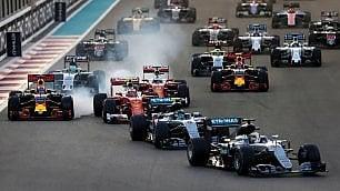 F1, Abu Dhabi: la sfida mondiale Rosberg-Hamilton in diretta