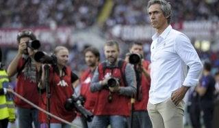 Fiorentina, striscioni contro Sousa. Corvino: ''Tecnico ha nostra fiducia''