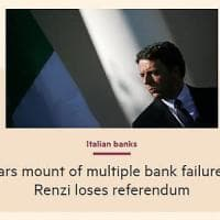 Referendum, nuovo affondo del Financial Times: