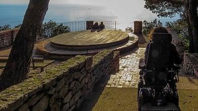 Capri, il disabile e il belvedere negato: Ho il diritto di ammirare il mare