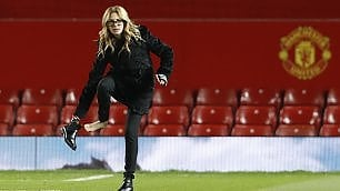 Julia Roberts all'Old Trafford per tifare Manchester United