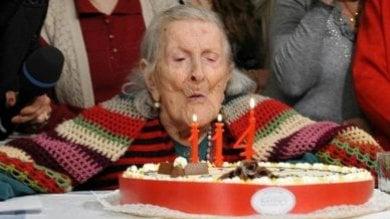 Spegne domani a Verbania 117 candeline, Emma è la donna più vecchia del mondo