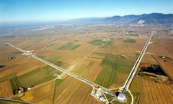L'antenna gravitazionale Virgo dell'Infn a Càscina, provincia di Pisa