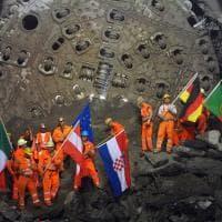Svizzera. Il tunnel di base del Gottardo
