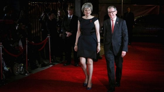 Il personal shopper di Theresa May