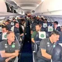 Colombia, precipita aereo: a bordo c'era la squadra brasiliana Chapecoense