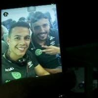 Aereo caduto in Colombia: il selfie prima della partenza del calciatore sopravvissuto