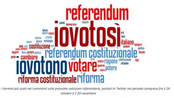 Referendum, il sentimento della Rete: dimmi come twitti e ti dirò come voti