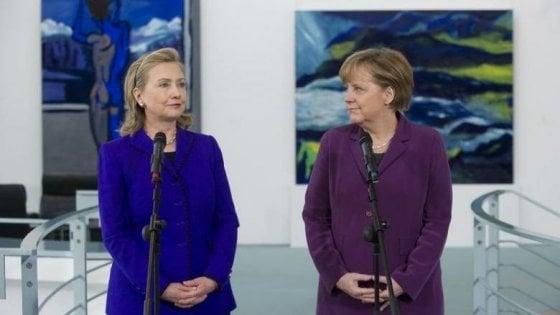 L'imbarazzo di Berlino per quei milioni di dollari donati alla fondazione Clinton