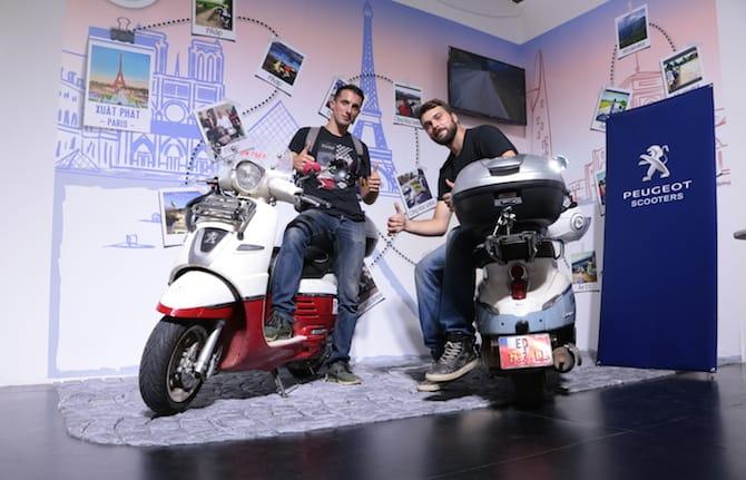 L'avventura chiama: Parigi - Saigon in sella a uno scooter Peugeot