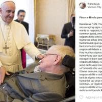 Chiesa e scienza a confronto: Papa Francesco incontra Stephen Hawking