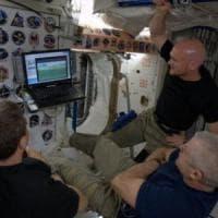 Il mistero della vista sfocata dell'astronauta, potrebber essere il liquor