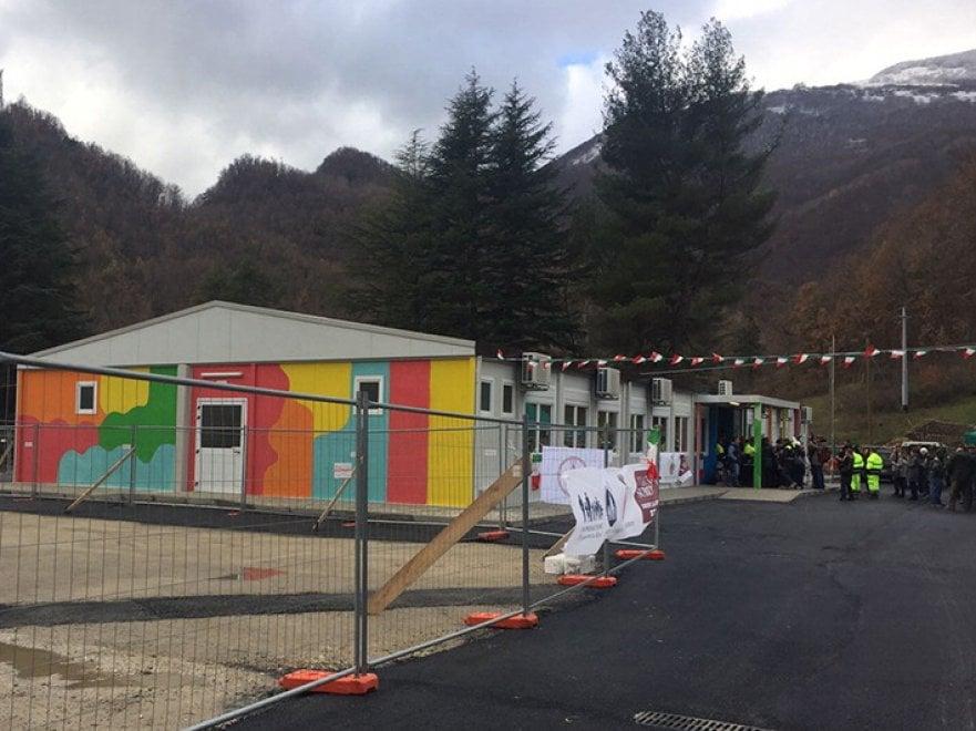 Terremoto, scuola nuova per i bimbi di Arquata del Tronto. Con i pc donati da Acer