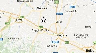 Parma, scossa di terremoto alle 6:52