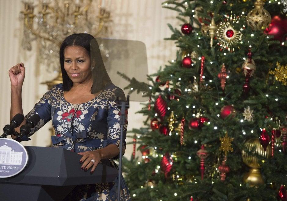 Immagini Natale Usa.Usa L Ultimo Natale Degli Obama Alla Casa Bianca Gli Addobbi Del