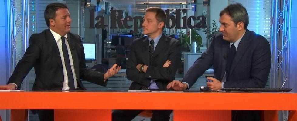 """Renzi: """"Risultato del voto avrà effetti sul governo. Senato ancora eletto da cittadini"""""""