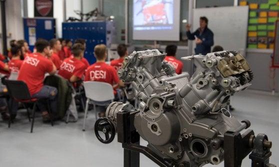 Ducati show, così si investe sui giovani