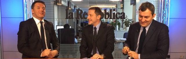 Renzi al videoforum di RepTv: Il 'sì' è contro casta. Senato sarà eletto ancora da cittadini