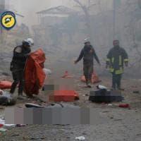 """Siria, allarme Onu dopo l'ennesima strage di civili: """"Aleppo rischia di diventare un..."""