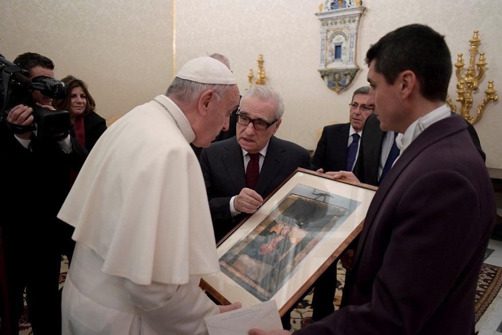 """Papa Francesco riceve Scorsese: """"Ho letto il libro che ha ispirato 'Silence'"""""""