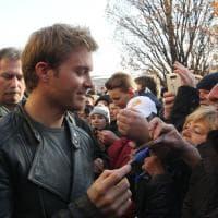 Formula 1, festa Rosberg a Wiesbaden: il campione nella sua città natale