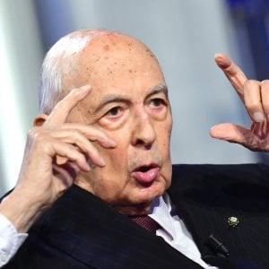 """Napolitano contro il M5s: """"La politica del click è mistificazione"""""""