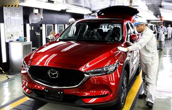 Al via la produzione di Mazda CX-5