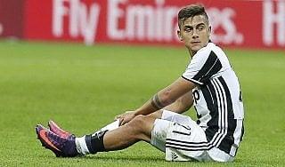 Juventus: via libera per Dybala in campo, ma con l'Atalanta andrà in panchina