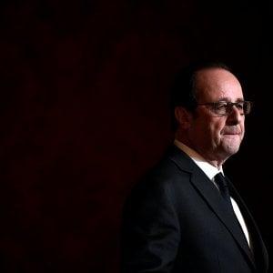 """Hollande a sorpresa: """"Non mi ricandido a presidente per il bene della Francia"""""""