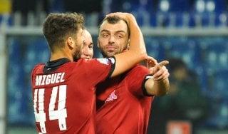Coppa Italia: il Genoa soffre ma passa, Bologna sul velluto