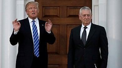 Usa, Trump chiama alla Difesa il super falco Mattis