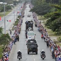 Le ceneri di Fidel attraversano Cuba