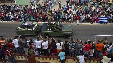 Cuba, il viaggio delle ceneri di Fidel in unisola bella e sciupata
