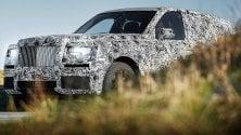 Rolls-Royce 4x4: è il progetto Cullinan