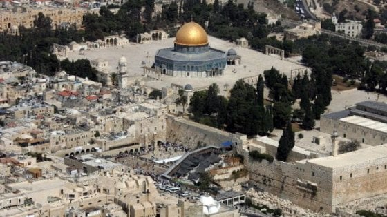 """Il Vaticano con Israele: """"No alla decisione Unesco su Gerusalemme Est"""""""