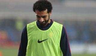 Roma, tre settimane di stop per per Salah: Spalletti lo riavrà a febbraio